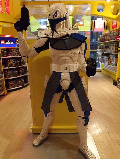 Lego Star Wars, FAO Schwarz Toy Store, New York City  by lenspiro