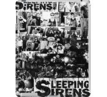 Sleeping with sirens ipad case iPad Case/Skin