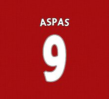 Liverpool - Aspas (9) by ThomasCainStock