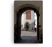 Archway To St. George's Chapel Canvas Print