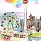 Coney Island by Jean Rim