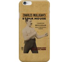 Charles Mulligan's Steakhouse Print iPhone Case/Skin