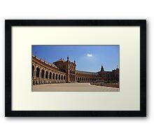 Sevilla Plaza de Espana Framed Print