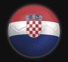 Croatia - Croatian Flag - Football or Soccer 2 by graphix
