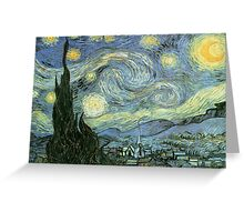 Vincent Van Gogh – Starry Night Greeting Card