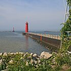Muskegon South Pierhead Light by Jack Ryan