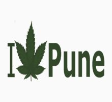 0087 I Love Pune  by Ganjastan