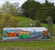 Roland Railway Station, Tasmania, Australia by Margaret  Hyde