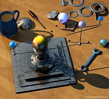 The tau Orrery by ShaneGallagher