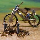 Diorama14 : Watch Parts Motorcycles by OfficialWPM