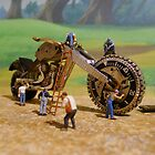 Diorama17 : Watch Parts Motorcycles by OfficialWPM
