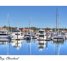 """Raby Reflections"", Raby Bay, Cleveland, Australia by Karen Duffy"