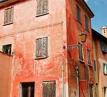 Derelict Red Building in Caorle by jojobob