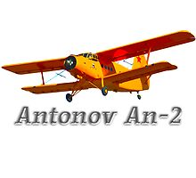 Antonov An-2 with text by boogeyman