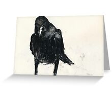 Australian Raven1 Greeting Card
