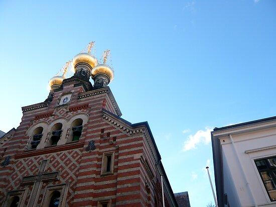 Russian Church in Copenhagen by HeklaHekla
