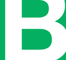 The Letter B Sticker