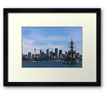 JS Makinami Framed Print