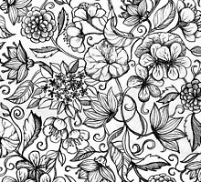 Her Paper Garden by micklyn