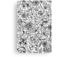 Her Paper Garden Canvas Print