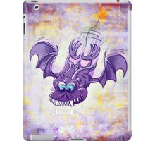 Bat Sinking its Fangs into Fresh Flesh iPad Case/Skin