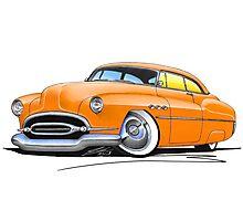 Buick Super Riviera (1952) Orange Photographic Print