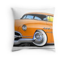 Buick Super Riviera (1952) Orange Throw Pillow
