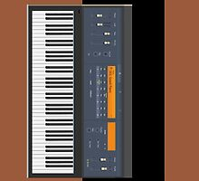 Electric Piano iPad by Radwulf