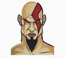 Kratos Head by Normusdigg
