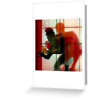 Body Language 3 Greeting Card