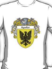 Aguilar Coat of Arms/Family Crest T-Shirt