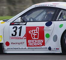 British GT3 - Remembering Allan Simonsen - #31 Trackspeed Porsche 911 GT3 R by motapics