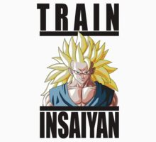 Train Insaiyan by irig0ld