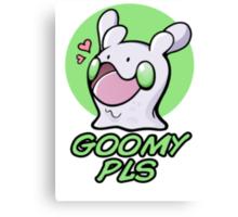Goomy Pls Canvas Print