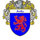 Avila Coat of Arms/Family Crest by William Martin