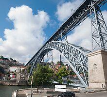 Don Luis Bridge in Porto by OHphoty