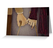 Tonks and Lupin Greeting Card