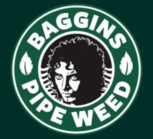 LOTR - Baggins Pipe Weed - Starbucks Coffee Mashup by Immortalized