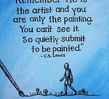 C.S. Lewis Quote  by Nicole Mule'