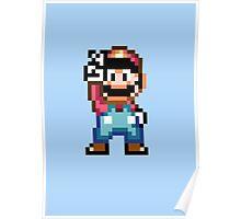 Super Mario Victory Poster
