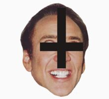 satanic nick cage by crystal meth
