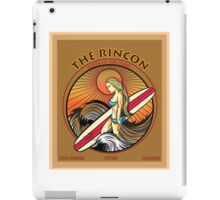 THE RINCON, QUEEN  OF THE COAST iPad Case/Skin