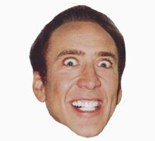 nick cage face by crystal meth