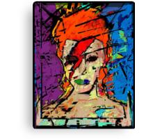 David Bowie. A Lad Insane Canvas Print