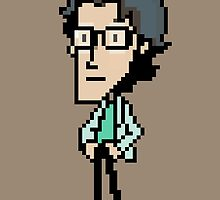 Otacon Sprite - Metal Gear Solid 2 / Sons of Liberty by sheakennedy