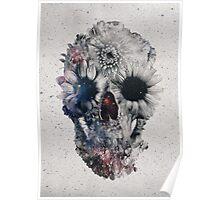 Floral Skull 2 Poster