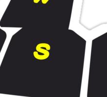 WASD - Keys Sticker