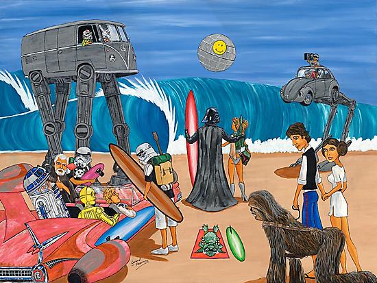 Surf Wars by Gerard Kearney