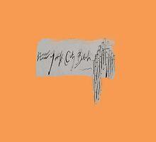 NY City (orange) by Haylee Walsh