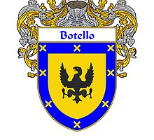 Botello Coat of Arms/Family Crest by William Martin
